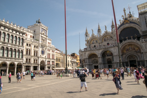 Sint Marcus Venetie.Het San Marcoplein In Venetie