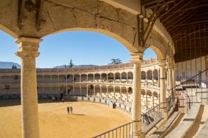 Image result for plaza de toros ronda